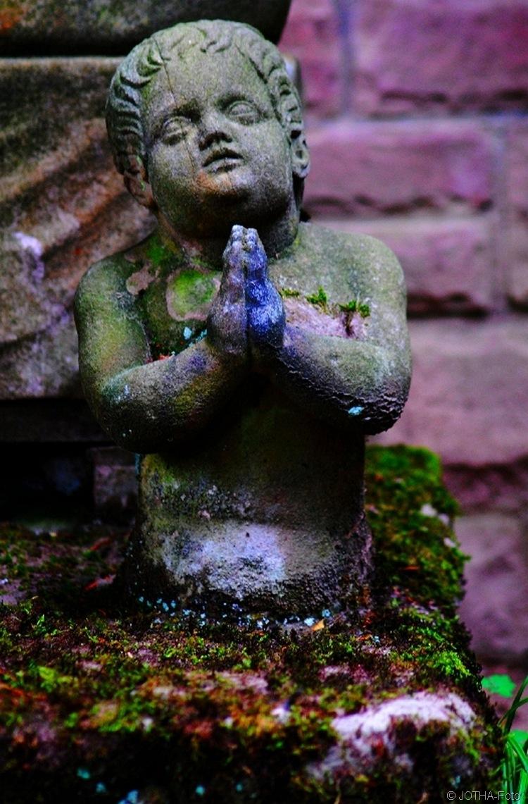 Gebet in Stein