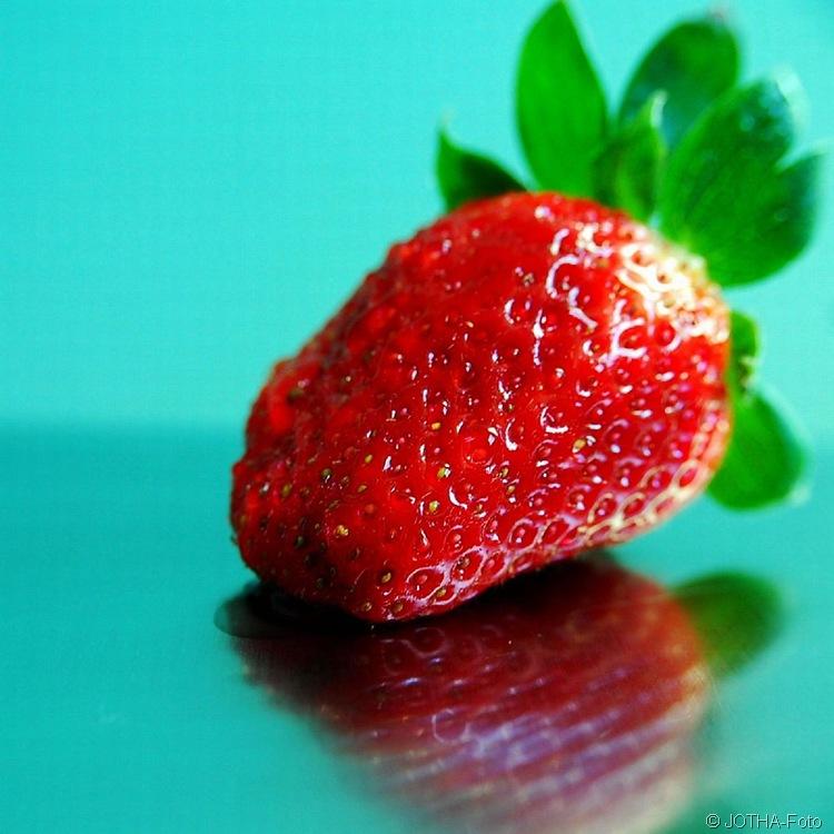 Zum Ende der Erdbeersaison