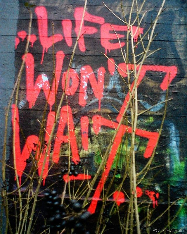 Life wont wait