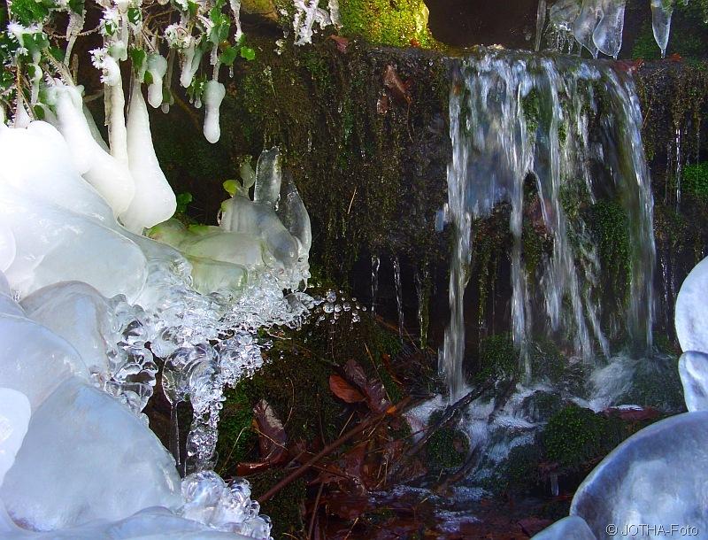 Winter an der Klosterquelle