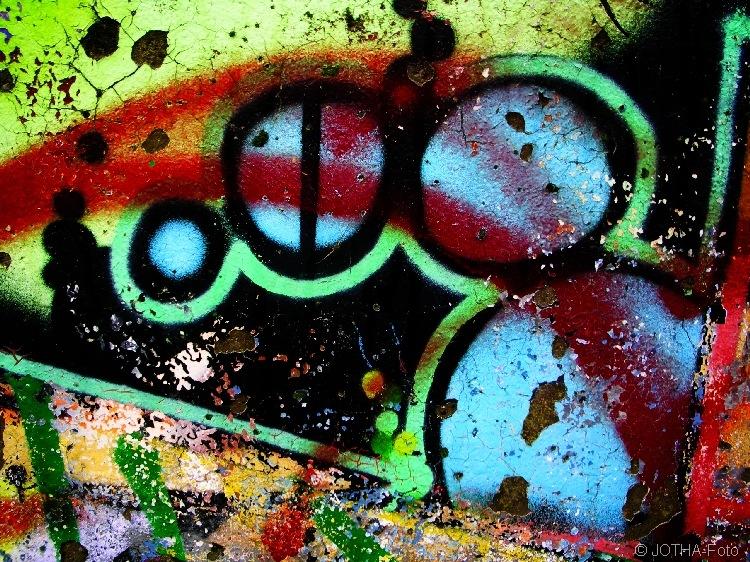 Farbe auf Wand 04