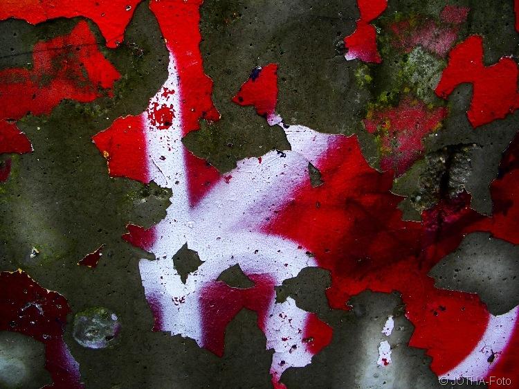 Farbe auf Wand 06
