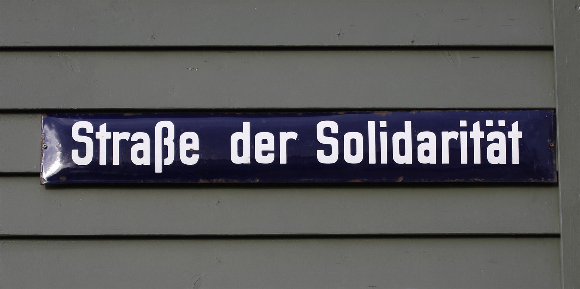 Strasse der Solidarität