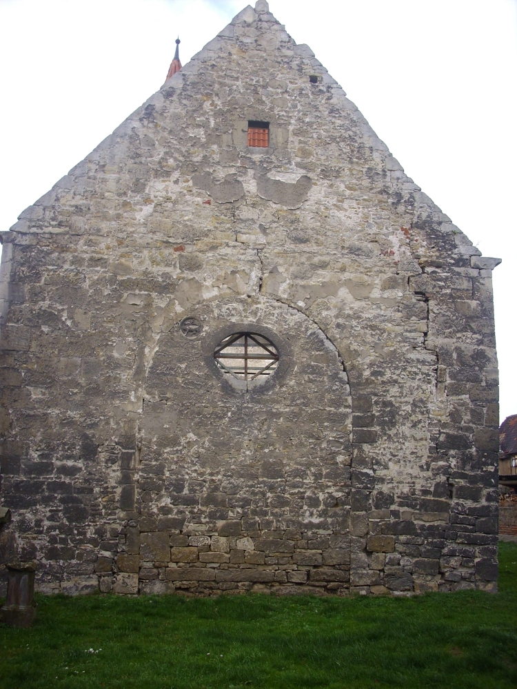 Die vergessene Templer-Kirche in Almsdorf