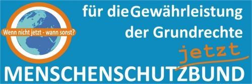 Banner Menschenschutzbund