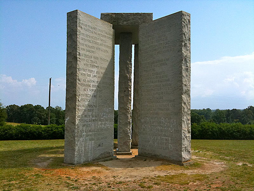 Georgia Guidestones ampcoder