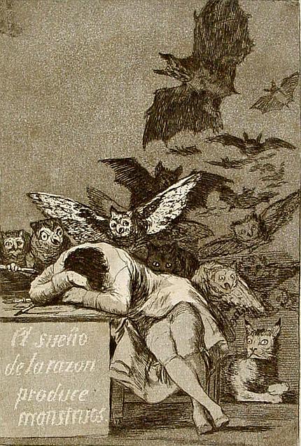 49_ Goya_Schlaf der Vernunft_wikimedia PD
