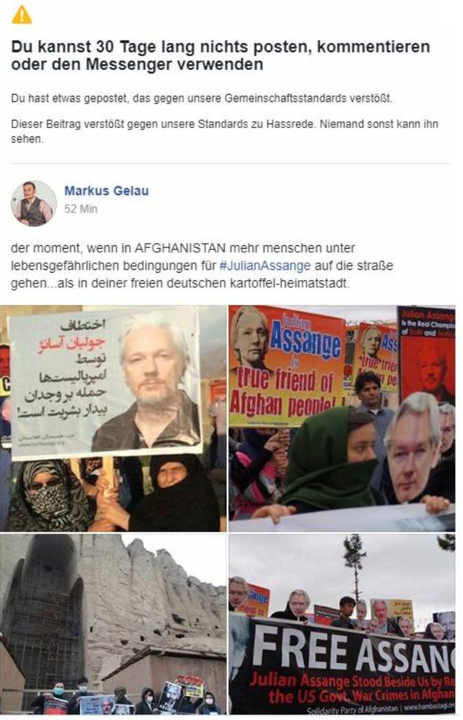 AssangeGelauAfghanistanFBscreenshot01052019
