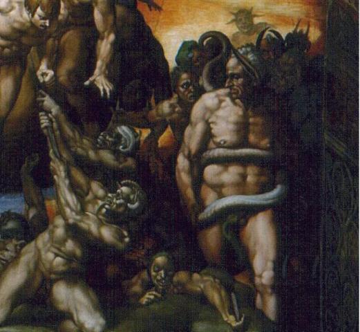 237 Michelangelo JüngstesGericht