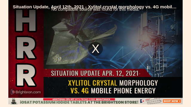 Screenshot_2021-05-01 Shocking video reveals cell tower transmissions interfering with xylitol crystal formation, showing d[...]
